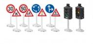 Siku Mondo semafori e segnali stradali