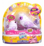 Little Live Pets Tweet Talking Owl and Baby - GRACELING FAMILY , mamma gufetto e baby 28008