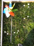 Girandole giravento, mulini  a vento i Art 404/eco Ø Cm. 30