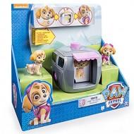 Paw Patrol - Pup to Hero - Skye - Da Ducciolo ad Eroe - Confezione 2 Personaggi + Cuccia