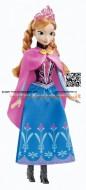 Mattel Y9958 - Disney Princess Anna Principessa Scintillante Frozen