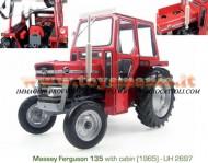 UNIVERSAL HOBBIES Massey Ferguson 135 SCALA 1/16 FUORI PRODUZIONE COD 2697