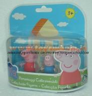 PEPPA PIG BLISTER 2 PERSONAGGI FORMATO DA PEPPA PIG E GEORGE PIG COD 04430