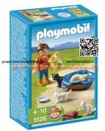 PLAYMOBIL 5126 BAMBINA CON GATTINI