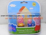 PEPPA PIG BLISTER 3° SERIE MODELLO FORMATO DA PEPPA PIG E GEORGE CCP 02821