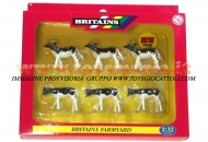 BRITAINS ACCESSORI PER MODELLISMO AGRICOLO ANIMALI SET VITELLI  SCALA 1/32 COD 40960