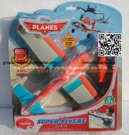 PLANES DISNEY MODELLO AEREO SUPER FLYERS DUSTY CON LANCIATORE COD 15121