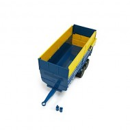 Britains BIG FARM 43017 - Big Farm Kane silage  trailer  Ladewagen scala 1/16 compatibile con bruder