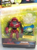 NOVITA'!!!!!BEN TEN ULTIMATE ALIEN NUOVA SERIE PERSONAGGIO SPARACQUA WATER HAZARD COD 37731
