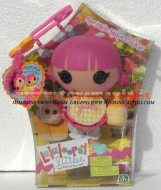 NOVITA' FRATELLINI E SORELLINE DELLE LALALOOPSY !! LALALOOPSY BABY-LITTLE DOLL SPRINKLE SPICE COOKIE COD.18427