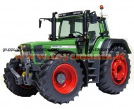 WEISE-TOYS ARTICOLO: WEISE-TOYS 1025 SCALA: 1/32 TIPO: TRATTORE FENDT FAVORIT 926 VARIO (1996-2000)