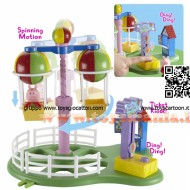 peppa pig parco giochi mongolfiera balloon ride 4614