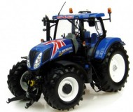 UNIVERSAL HOBBIES NEW HOLLAND T7.210 GREAT BRITAINS FLAG(BANDIERA) COD 4045