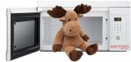 Warmies alce - renna - marrone chiaro - calore tenero peluche - mikrowe 100% ...