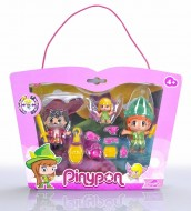 Pinypon Peter Pan/Uncino/Trilli Personaggi di Famosa 700012738