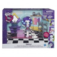 My Little Pony Equestria Girls Minis , salone di bellezza di Rarity di Hasbri B4910