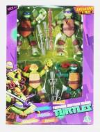 Mutant Ninja Turtles Exclusive 4 pezzi - leonardo - donatello - michelangelo - raffaello-  Giochi Preziosi 90920-90922