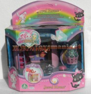 giocattolo novita'  JEWELPET HOUSE ,LA CASA DEI JEWELPET seconda serie  COD 12236