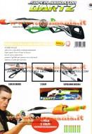 !!!! DARTZ !!! Superliquidator Dartz SLDartz Gun Barrel Dual Fire FUCILE SPARA PROIETTILI TIPO NERF GIG08612