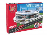 Giochi Preziosi - Nanostad Puzzle 3D Emirates Stadium/Arsenal