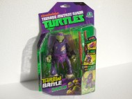 TURTLES PERSONAGGI DELUXE THROW'N BATTLE - TARTARUGA NINJA  DONATELLO 15 CM ( CON MOVIMENTO CAPRIOLA ) GPZ91620
