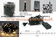 minilucciole a led 100 minilucciole led bianco luce calda 4505