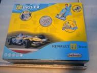 MACCHINA DA F1 DRIVER RENAULT F1 TEAM MAJORETTE SIMULATORE PER BAMBINI , VOLANTE CON SUONI