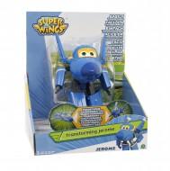 NEW SUPER WINGS  Giochi Preziosi - Jerome, Aereo Robot Personaggio Trasformabile Articolato, Alto 12 Cm   GIOCATTOLO ORIGINALE TOYS