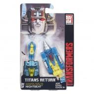 Transformers Generations Titan Masters Nightbeat B4697-B4698 di Hasbro