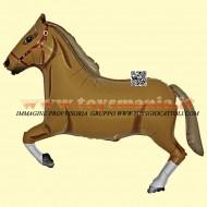 Grabo palloni gonfiabili cavallo marrone