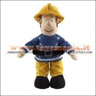 Peluche Sam il pompiere originale peluche Fireman Sam peluche circa 40 cm