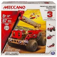 Meccano - Multimodels Set 3 Modelli Rescue Force  80 pezzi e attrezzi inclusi