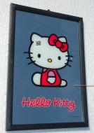 SPECCHIO DI  HELLO KITTY 30 X 20 CM CIRCA CON CORNICE IN PLASTICA