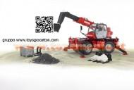 Bruder  02129 Manitou MRT 2150 con braccio meccanico e accessori scala 1 /16 [ cod 02129 ]