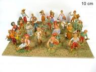 statua plastica per presepe 10 cm colori tenui offerta 24 pezzi 1 scatola 8033113005893