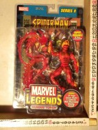 MARVEL LEGENDS HUMAN TORCH I SUPER EROI