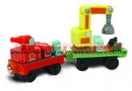 Chuggington TRENINO:MODELLO WOOD RESCUE CARS 2 VAGONI COD LC 56016 toys , BRINQUEDOS ,JUGUETES , JOUETS , giocattoli