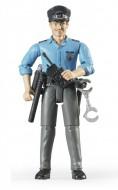 Bruder  poliziotto pelle chiara con accessori 60050