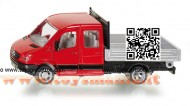 SIKU MERCEDES SPRINTER CON CASSONE RIBALTABILE SCALA 1/50 cod 3538