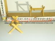 Millenium Christmas set banco spacca legna adatto a finire presepi e statuine cm 8-10-12-20 presepe cod 505-b