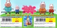 Giochi Preziosi - Peppa Pig, Coppia Personaggi con Papà E mamma pig  COD CCP 01470 - 1471  2 blister 4 personaggi