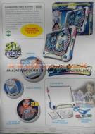 GIOCHI PREZIOSI LAVAGNETTA COLOR & GLOW MAGIC 3 D COD 437100