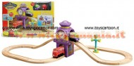 Chuggington LC56701 - Torre Dell'Orologio A 8 - Wooden Railway in legno 2 in 1 Chuggington Wooden Railway 56701