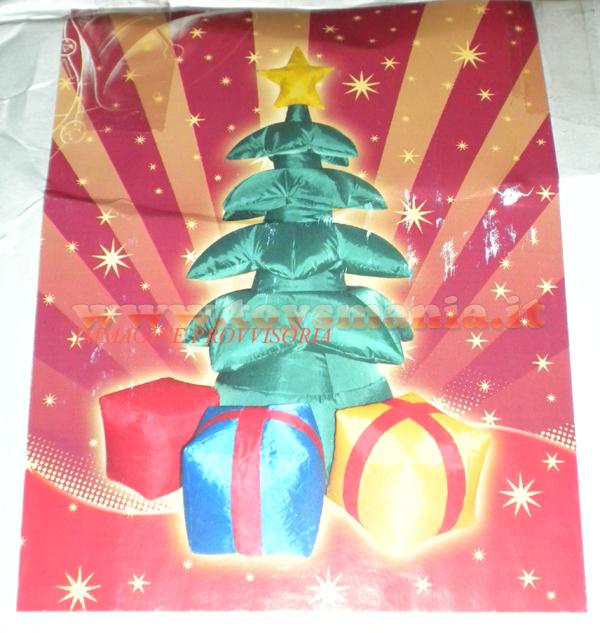 Due esse chritsmas albero di natale con i regali for Albero natale gonfiabile
