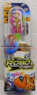 ROBO FISH TROPICAL , ROBOFISH TROPICAL CON COLORI TROPICALI SIMULA IL MOVIMENTO DI UN PESCE VERO MODELLO ROSA COD NCR 02239