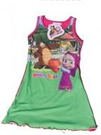 MASHA E ORSO Maglia - MAGLIETTA - T-SHIRT Vestito  canotta  bambina 4 anni art.vc13 rosa