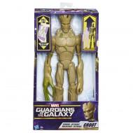 Marvel Guardiani della Galassia Titan Hero Groot estensibile C0075 di Hasbro