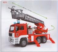 Bruder Camion MAN TGA  dei pompieri nuovi colori  modello 2010  COD 02771