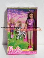 MATTEL Barbie e sorelline Safari Skipper e Chelsea BDG24 BDG26 di Mattel