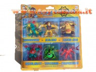 INVIZIMALS BLISTER 6 PERSONAGGI 30497